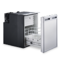 DOMETIC COOLMATIC CRD 50 PULL-OUT COMPRESSOR REFRIGERATOR IN STAINLESS STEEL LOOK, 38.5 L- Grasshopper Leisure